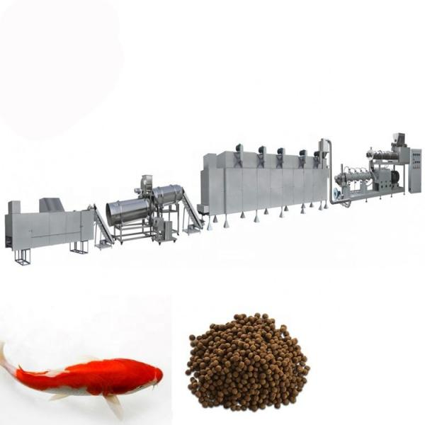 Small Diameter 2-18mm Floating Fish Feed Extruder