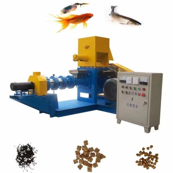 Small Manufacturing Pet Food Feed Machinery Price Poultry Dog Floating Fish Chicken Animal Food Pellet Granulator Making Machine