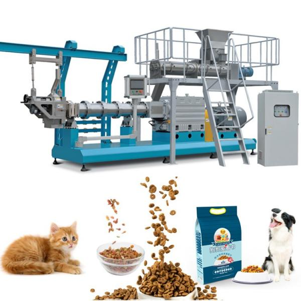 Saibainuo Automatic Dry Animal Pet Dog Cat Floating Sinking Fish Feed Pellet Production Snack Food Processing Making Extrusion Extruder Machine