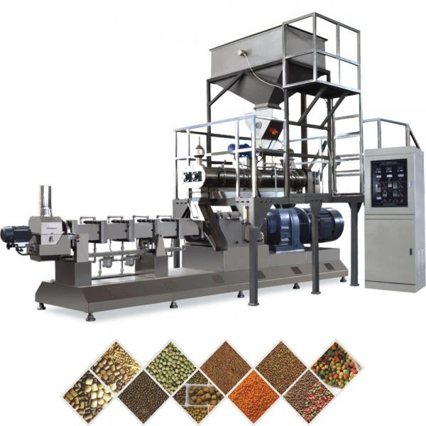 Automatic Dry Type Floating Fish Feed Extrusion Production Line